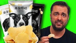 Dog Food Flavored Potato Chips! (Weirdest Flavors in China - BONUS ROUND!)