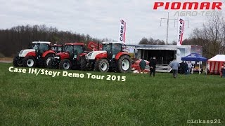 Demo Tour CASE IH/STEYR 2015 || Piomar Agro-Tech || ^^Lubelskie^^
