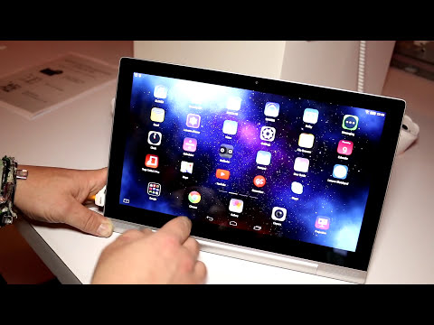 Lenovo Yoga Tablet 2 Pro with Pico-Projector hands on [ENGLISH]