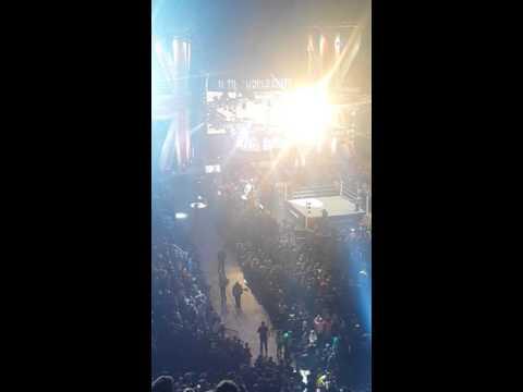 Ric flair entrance - Manchester united kingdom