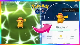 LIVE🔴 NEW SHINY STRAW HAT PIKACHU RELEASE in Pokemon Go! Road to 20,000 Subs!