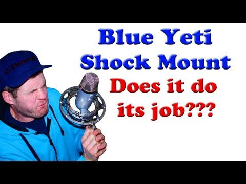 Blue yeti radius shock mount: Comparing recordings with and without the shockmount