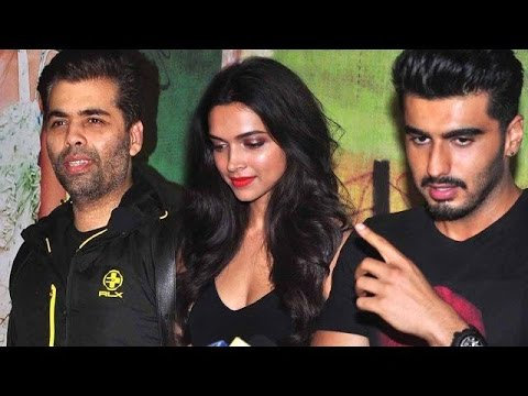 Bollywood Celebs At Finding Fanny Screening│Deepika Padukone,Arjun Kapoor
