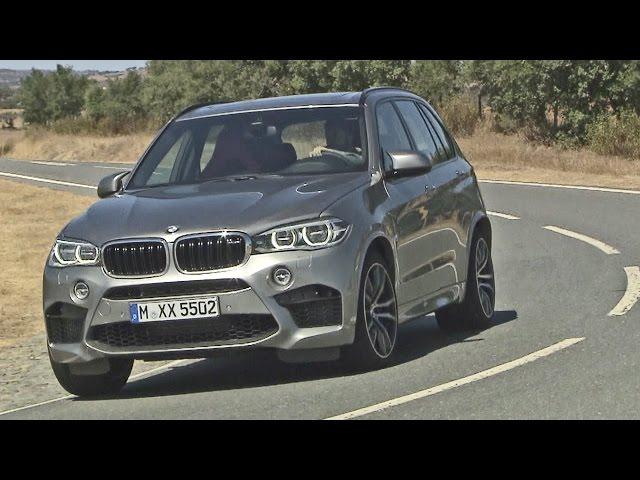 First Drive: 2015 BMW X5 M - 575 hp - Good exhaust sound ...
