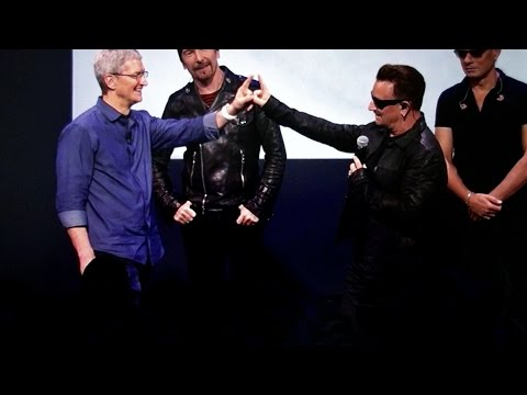 Apple Gives Everyone U2's New Album