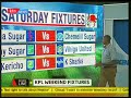 Kenyans react to Kenya Premier League game logs  | Scoreline