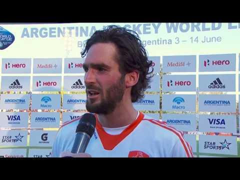 Post Match Interview Robert van der Horst
