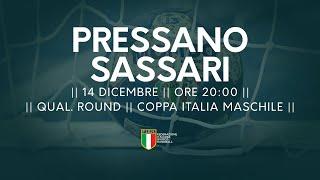 [Qual. Round] Coppa Italia M: Pressano - Sassari 28-24