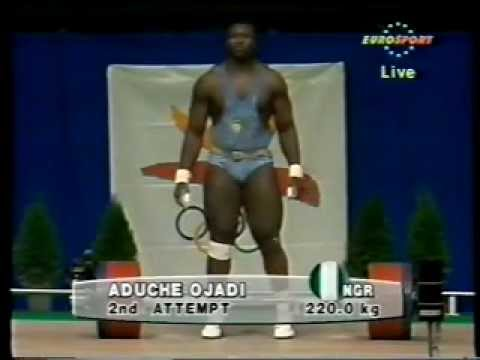 1992 Olympics +110 kg Weightlifting