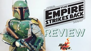 Hot Toys 1:6 MMS 463 Movie Masterpiece Star Wars The Empire Strikes Back Boba Fett Review