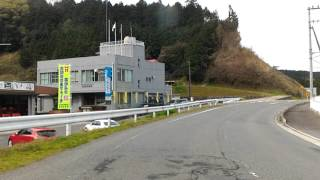 Driving in Japan, from Iga-Ueno to Yamazoe village, cherry blossoms
