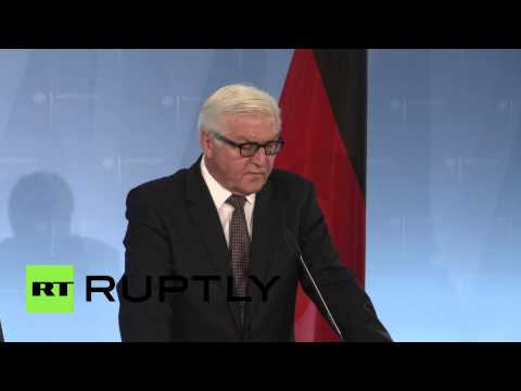 Germany: FM Steinmeier condemns Friday's terror attacks