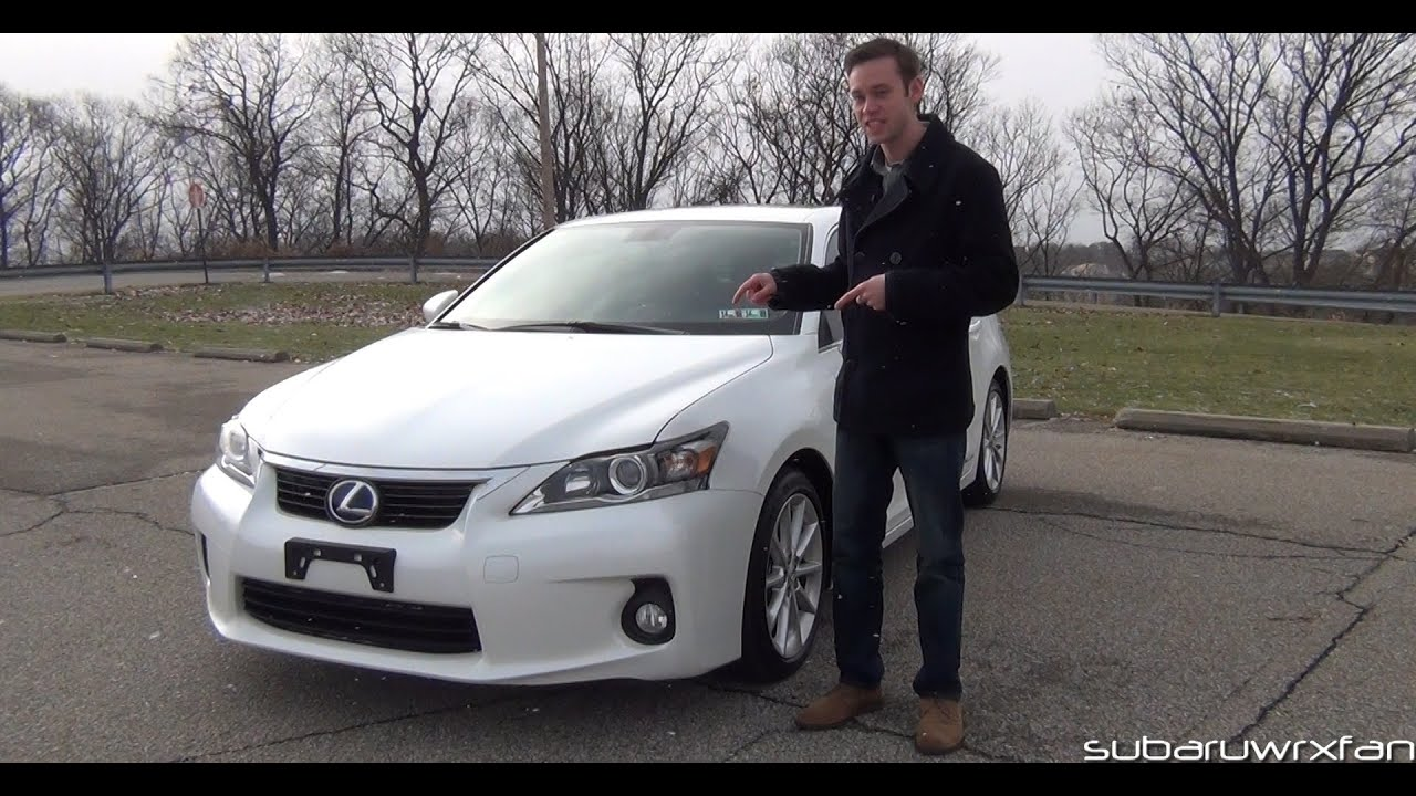 Review: 2012 Lexus CT 200h - YouTube