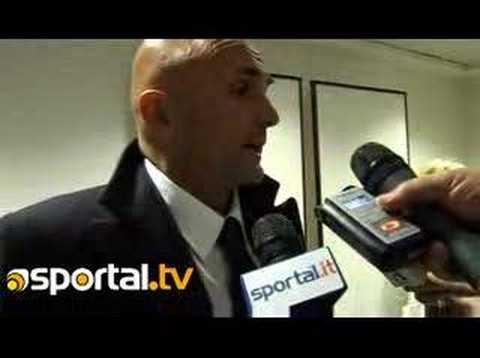 luciano spalletti inter-roma 27 febbraio 2008 - sportal -