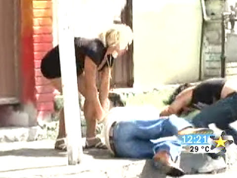 ''Prostitutas'' Asaltan a señor FUERTES IMAGENES