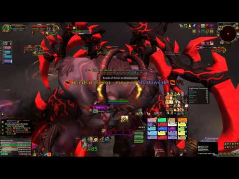 Brothers in arms vs Xavius mythic first kill