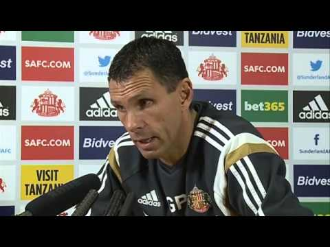 Gus Poyet on Sunderland players paying the fans back