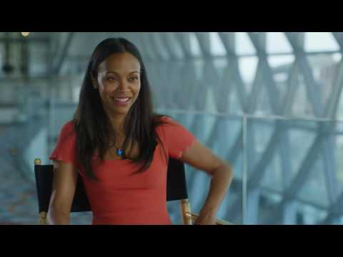 "Star Trek: Beyond: Zoe Saldana ""Lieutenant Uhura"" Behind the Scenes Movie Interview"