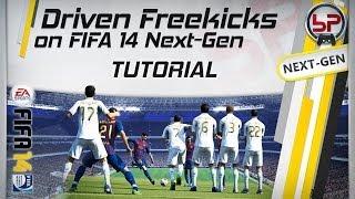 FIFA 15 Tutorial | Driven Free Kicks Around The Wall / Power Free Kick [Xbox One/PS4]