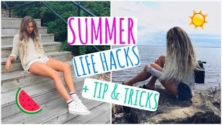 Get Ready For Summer // Life Hacks, Tips & Tricks!