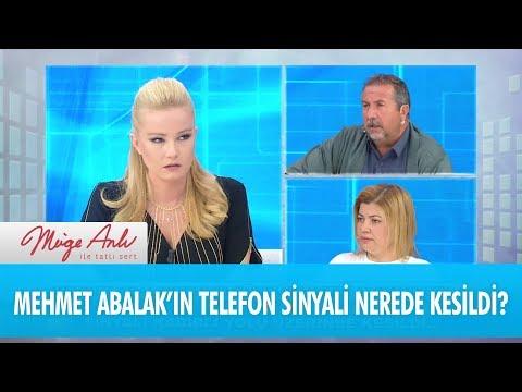 Mehmet Abalak'ın telefon sinyali nerede kesildi? - Müge Anlı İle Tatlı Sert 30 Kasım 2017
