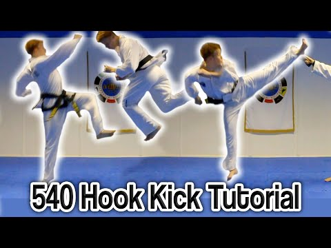 Taekwondo 540/c720 Hook Kick Tutorial