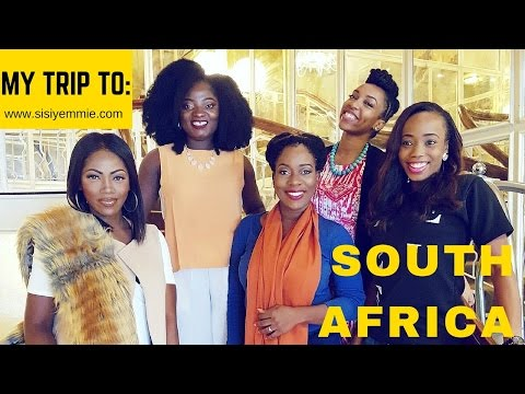 """SISI WEEKLY """"EP 53"""" : SISIYEMMIE'S SOUTH AFRICAN TOUR - 1"""