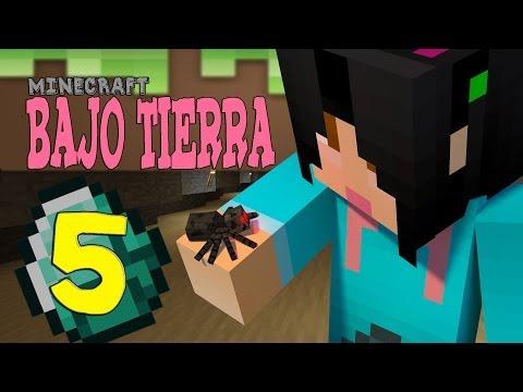 Minecraft PC- Bajo Tierra- PARTE 5 Encontramos unaaaa...