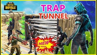 trap tunnel fortnite fortnite best trap tunnel ever how to trap in save - fortnite save the world best traps