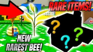 GIANT SPROUT AND *NEW* RAREST BEE IN BEE SWARM SIMULATOR! (Roblox)