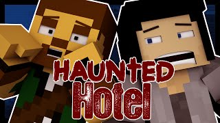 Haunted Hotel: ESCAPING THE HOTEL! (Minecraft Roleplay) #11 Season Finale