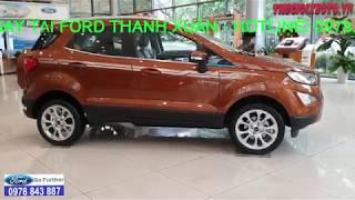Giá xe Ford Ecosport 2019 Khuyến mãi mua xe Ford Ecosport 2019 cực kỳ lớn, xe có đủ màu giao ngay.!
