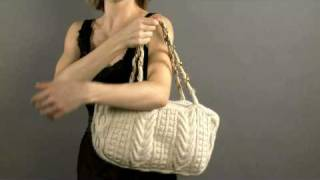 #2 Cabled Bag, Vogue Knitting Holiday 2008