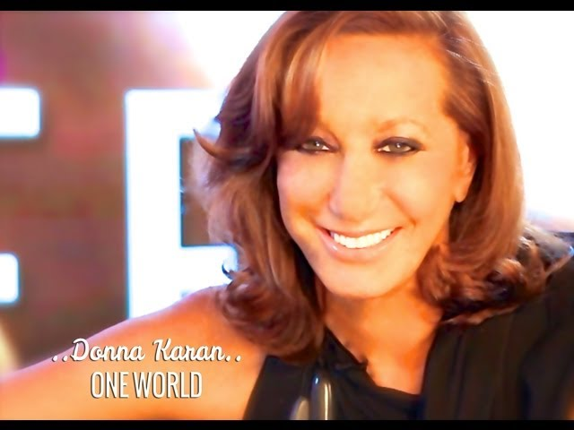 ONE WORLD: DONNA KARAN & DEEPAK CHOPRA