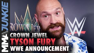 Tyson Fury details reasons behind signing to compete in WWE