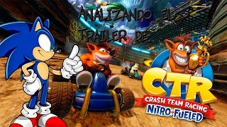 Analizando el Trailer de Crash Team Racing: Nitro-Fueled