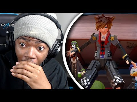 TOY STORY IN KINGDOM HEARTS 3!!! | Kingdom Hearts 3 D23 2017 Trailer Live Reaction!