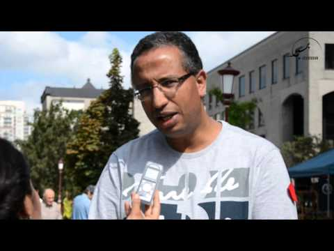 Forum social des peuples : Yousef Laarej