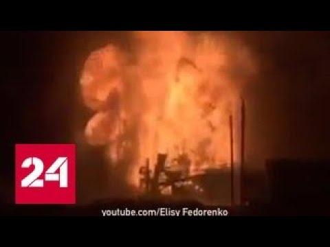 Пожар на нефтяной скважине в ХМАО тушат 100 пожарных