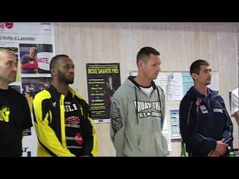 Reportage - 1/2- partie 1/2- Tournoi de Savate Boxe franaise   Lanester