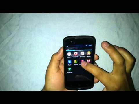Smartphone Airis TM 400 - Verificando Aplicaciones (BASICO)