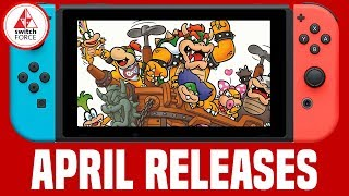 All Nintendo Switch Games April 2018 - Release Dates + What To Buy