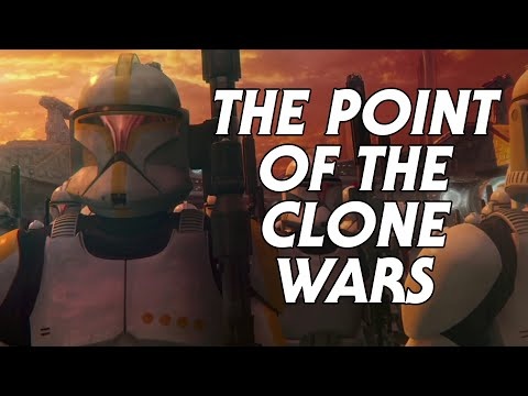 The Point of the Clone Wars - The Genius of Palpatine's Plan