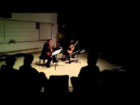Odeum Guitar Duo - Carulli - Theme, Variations&Finale Op. 96 - May 13, 2011