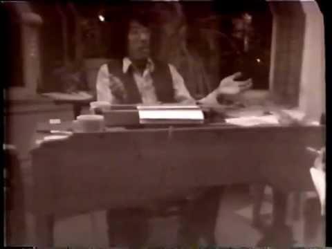 Frank Chin, Jeff Chan, Al Wong & Sandra Lee watching TV