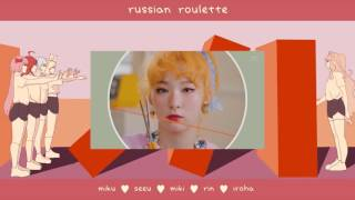 【vocaloid】russian Roulette【miku, Seeu, Miki, Rin, Iroha】