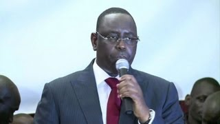 Macky Sall nouveau président du Sénégal