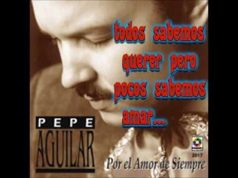 Pepe Aguilar mas romanticas Para relajar
