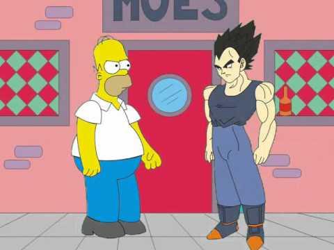 homero Simpson vs Veggeta