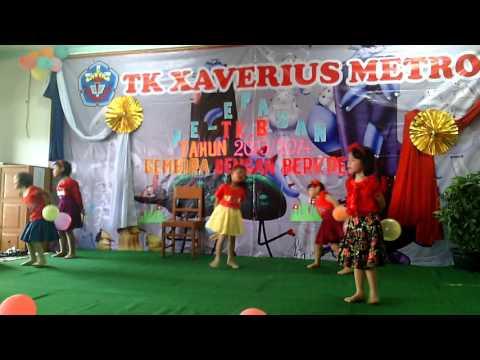 Tari Balon TK Xaverius Metro